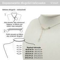 Personalized Simple Disc Necklace | Sterling silver | 13 x 13 mm