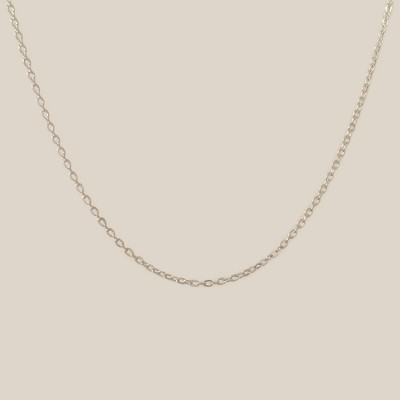 Silver chain Cable | Sterling silver