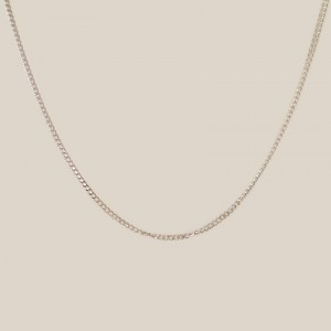 Silver chain Cubana | Sterling silver