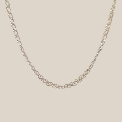 Silver chain Singapur | Sterling silver
