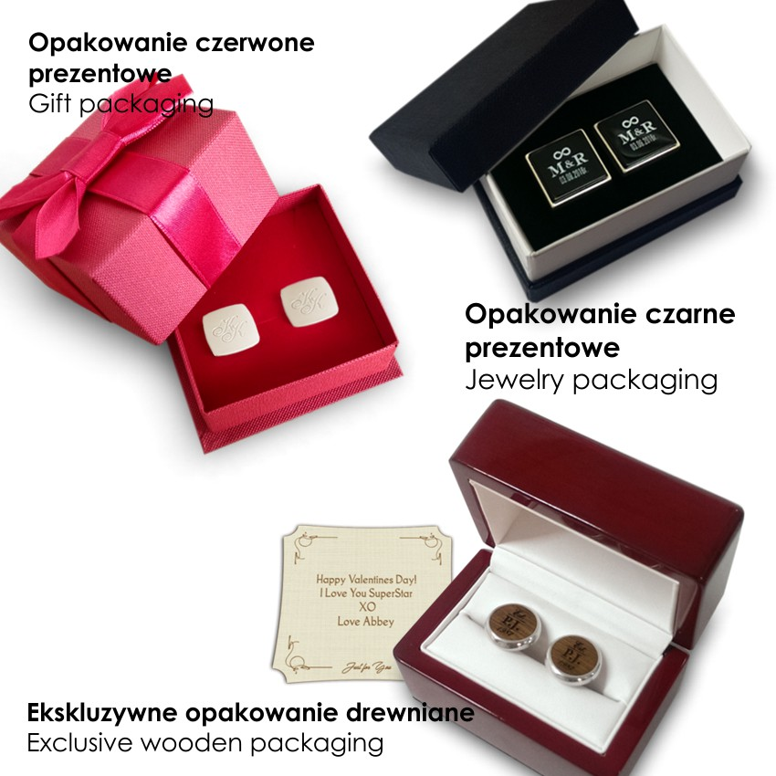 Handwriting Cufflinks | With your handwriting / dedication | Sterling sillver | ZD.150