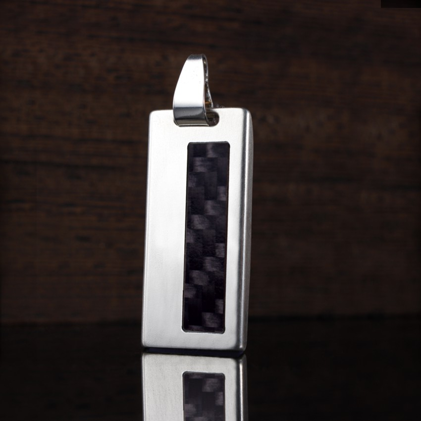 Carbon USB | Carbon II 8GB USB 2.0 | Sterling Silver | Carbon Fibre