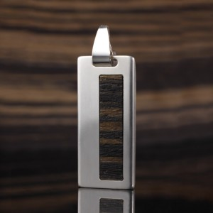 Silver custom USB | Teak II 16GB USB 2.0 | Sterling Silver | Teak wood