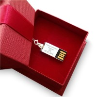 Carbon USB | Carbon II 8~64GB USB 2.0 | Sterling Silver | Carbon Fibre