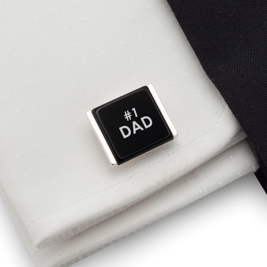 2eed385c185 Engraved cufflinks   Gift Ideas for Dad   Available in different languages    Sterling sillver