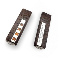 Sterling silver Flash drive | VIP Amber 16~128GB USB 3.0 | Baltic Amber | Three types of wood